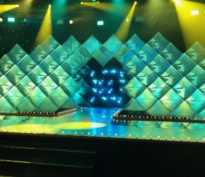 The set of Ru Pauls drag race